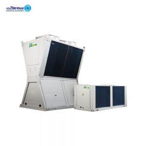 چیلر هواخنک مدولار 130kw گرین GACC130P3T1