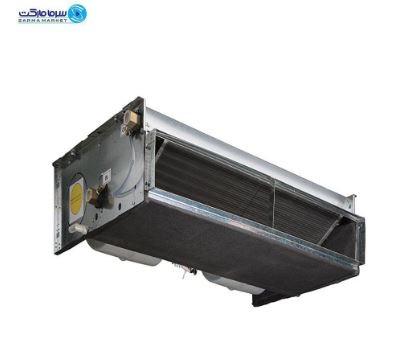 فن کویل سقفی توکار تهویه یکی از دستگاه های مناسب با ارتفاع کم برای نصب در انواع سقف های کاذب است. این دستگاه دارای دو دریچه ورودی هوای تازه و کنترل سه سرعته با صدای بسیار پایین است.