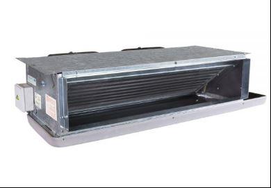 انواع مختلف فن کویل سقفی به خصوص نوع توکار، دارای یک کویل آب سرد برای تولید هوای خنک و یک کویل آب گرم برای تولید گرما هستند.