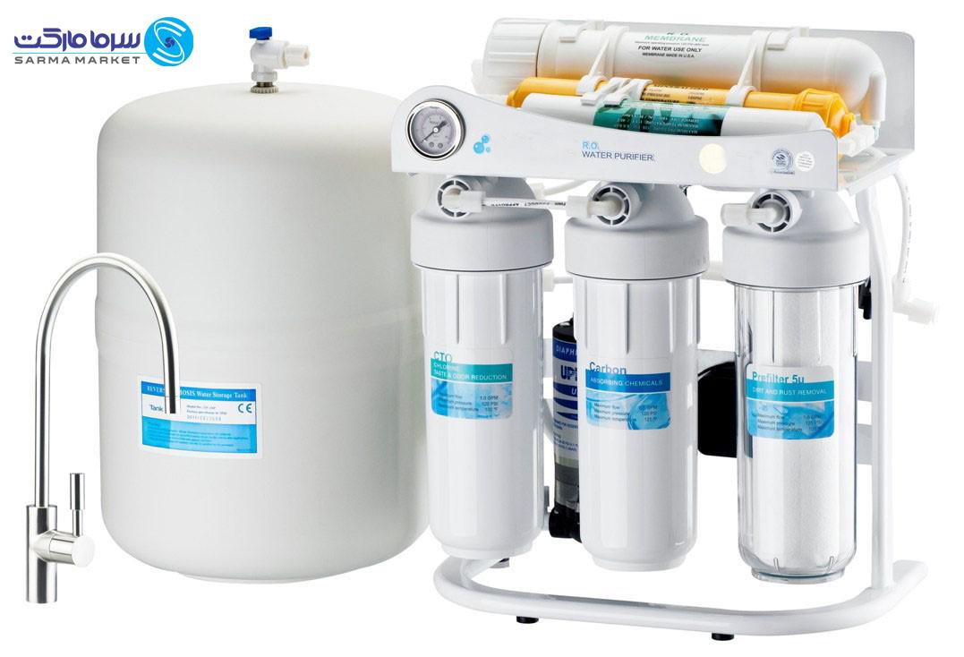 ستفاده از سیستم های تصفیه آب در سال های اخیر به دلیل پیشرفت های ویژه ی موجود بسیار مقرون به صرفه میباشد.