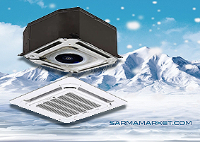 ساختار فن کویل سقفی توکار