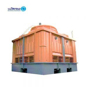برج خنک کننده مدار باز مکعبی 300 تن پرتو آبگردان X300