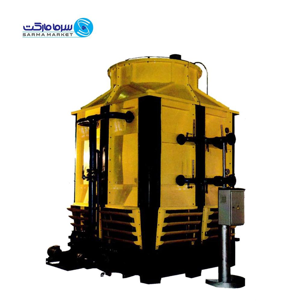 برج خنک کننده مدار بسته مکعبی 1200 تن پرتو آبگردان XC-1200