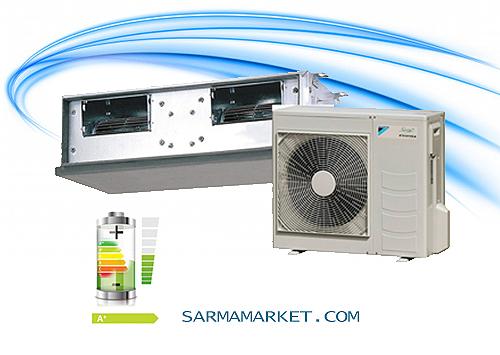 بررسی مصرف برق در داکت اسپلیت