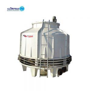 برج خنک کننده فایبر گلاس 125 تن هواساز 125-HFCT