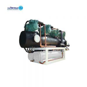 چیلر آب خنک 100.43 kw هواساز HLCW-35-1