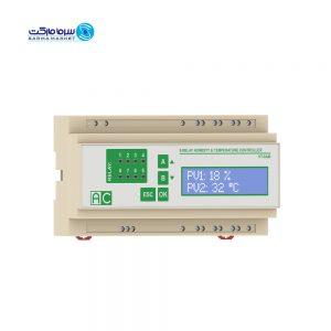 کنترلر رطوبت و دما هشت رله AC مدل HT-8AM